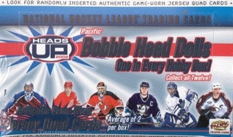 2001/02 Pacific Heads Up Hockey Hobby Box