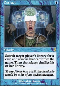 Magic the Gathering Odyssey Single Extract - SLIGHT PLAY (SP)