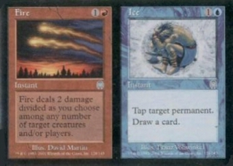Magic the Gathering Apocalypse Single Fire / Ice UNPLAYED (NM/MT)