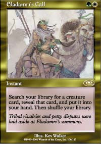 Magic the Gathering Planeshift Single Eladamri's Call - SLIGHT PLAY (SP)