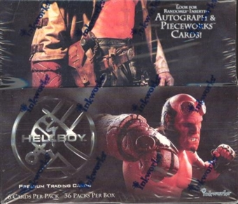 Hellboy Movie Hobby Box (Inkworks)
