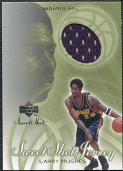 2001/02 Upper Deck Sweet Shot Game Jerseys #LH Larry Hughes