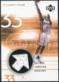 2001/02 Upper Deck Flight Team Flight Patterns #AJ Antawn Jamison