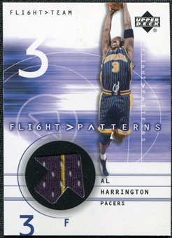 2001/02 Upper Deck Flight Team Flight Patterns #AL Al Harrington