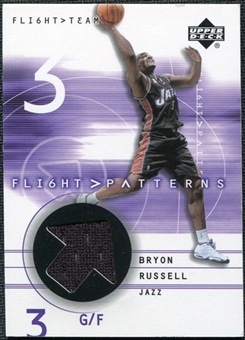 2001/02 Upper Deck Flight Team Flight Patterns #BR Bryon Russell