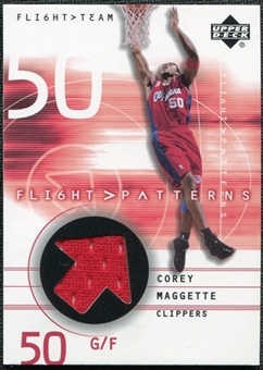 2001/02 Upper Deck Flight Team Flight Patterns #CM Corey Maggette