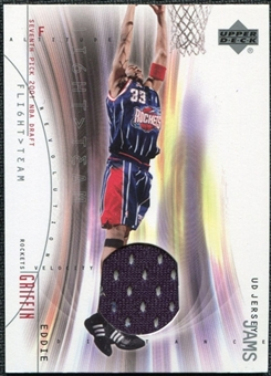 2001/02 Upper Deck Flight Team UD Jersey Jams #EGJ Eddie Griffin