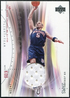 2001/02 Upper Deck Flight Team UD Jersey Jams #JKJ Jason Kidd