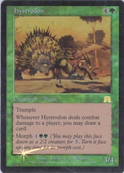 Magic the Gathering Onslaught Single Hystrodon Foil