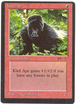 Magic the Gathering Arabian Nights Single Kird Ape - SLIGHT PLAY (SP)