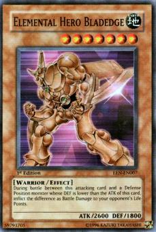 Yu-Gi-Oh Elemental Energy Single Elemental Hero Bladedge Super Rare (007)