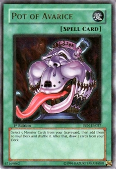 Yu-Gi-Oh Elemental Energy Single Pot of Avarice Ultimate Rare