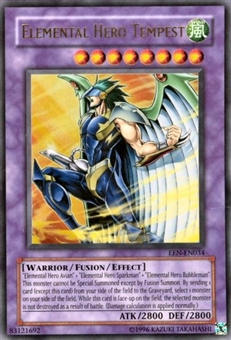 Yu-Gi-Oh Elemental Energy Single Elemental Hero Tempest Ultra Rare