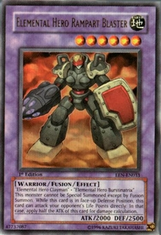 Yu-Gi-Oh Elemental Energy Single Elemental Hero Rampart Blaster Ultra Rare