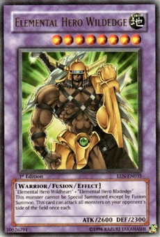 Yu-Gi-Oh Elemental Energy Single Elemental Hero Wildedge Ultra Rare (035)