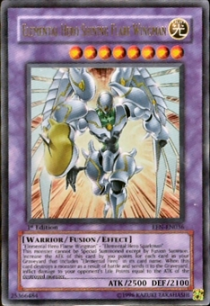 Yu-Gi-Oh Elemental Energy Single Elemental Hero Shining Flare Wingman Ultra Rare