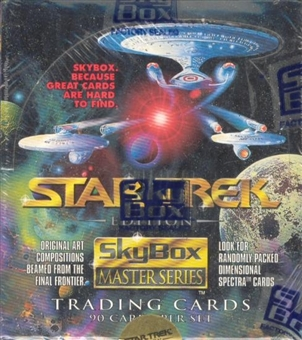 Star Trek Master Series Box (1993 Skybox)