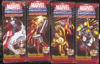 WizKids HeroClix Marvel Armor Wars Booster 12-Pack Brick
