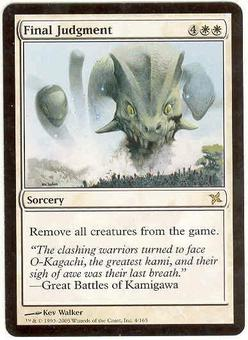 Magic the Gathering Betrayers of Kami Single Final Judgment - SLIGHT PLAY (SP)