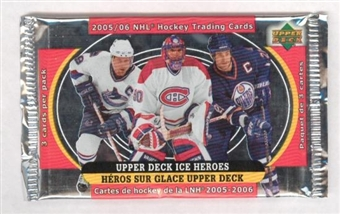 2005/06 Upper Deck McDonalds Hockey Pack