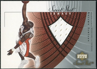 2002/03 Upper Deck Sweet Shot Jerseys #AJJ Antawn Jamison