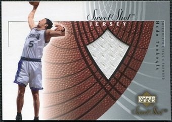 2002/03 Upper Deck Sweet Shot Jerseys #HTJ Hedo Turkoglu
