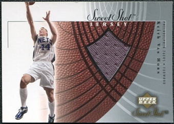 2002/03 Upper Deck Sweet Shot Jerseys #KVJ Keith Van Horn