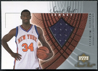 2002/03 Upper Deck Sweet Shot Jerseys #MCJ Antonio McDyess