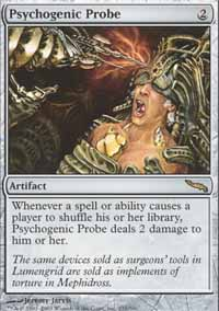 Magic the Gathering Mirrodin Single Psychogenic Probe - NEAR MINT (NM)