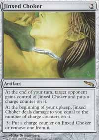 Magic the Gathering Mirrodin Single Jinxed Choker UNPLAYED (NM/MT)