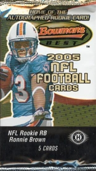 2005 Bowman's Best Football Hobby Pack