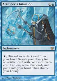 Magic the Gathering Fifth Dawn Single Artificer's Intuition - NEAR MINT (NM)