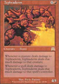 Magic the Gathering Onslaught Single Tephraderm - NEAR MINT (NM)