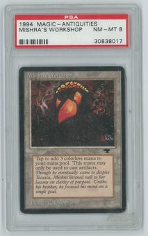 Magic the Gathering Antiquities Single Mishra's Workshop PSA 8