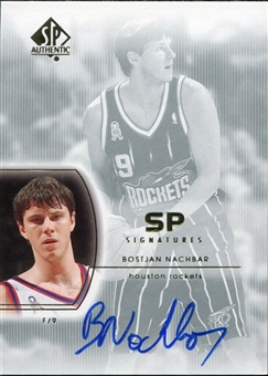 2002/03 Upper Deck SP Authentic SP Signatures #BN Bostjan Nachbar
