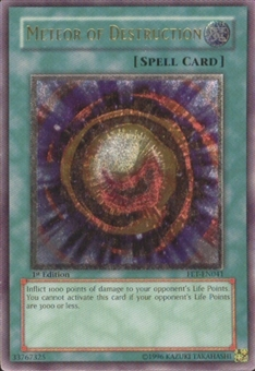 Yu-Gi-Oh Flaming Eternity Single Meteor of Destruction Ultimate Rare (FET-041)