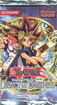 Upper Deck Yu-Gi-Oh Legacy of Darkness Unlimited Booster Pack