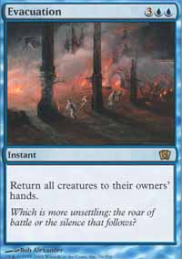 Magic the Gathering 8th Edition Singles 4x Evacuation - NEAR MINT (NM)