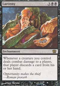 Magic the Gathering 8th Edition Single Larceny UNPLAYED (NM/MT)