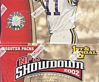 WOTC NFL Showdown 2002 1st & Goal Football Booster Box