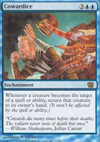 Magic the Gathering 8th Edition Single Cowardice UNPLAYED (NM/MT)