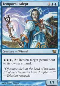 Magic the Gathering 8th Edition Single Temporal Adept - NEAR MINT (NM)
