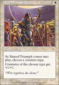 Magic the Gathering Onslaught Single Shared Triumph - NEAR MINT (NM)