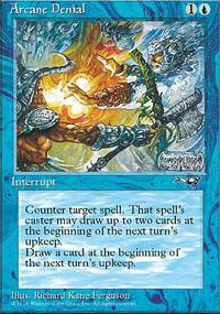 Magic the Gathering Alliances Single Arcane Denial (Ver.1) - NEAR MINT (NM)