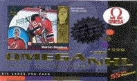 1998/99 Pacific Omega Hockey Hobby Box