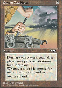 Magic the Gathering Alliances Single Storm Cauldron - NEAR MINT (NM)