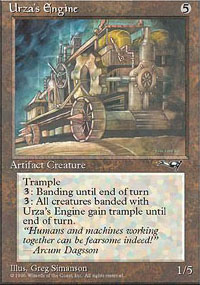 Magic the Gathering Alliances Single Urza's Engine - NEAR MINT (NM)