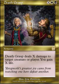 Magic the Gathering Apocalypse Single Death Grasp - NEAR MINT (NM)