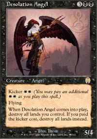 Magic the Gathering Apocalypse Single Desolation Angel - NEAR MINT (NM)