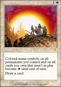 Magic the Gathering Apocalypse Single False Dawn Foil